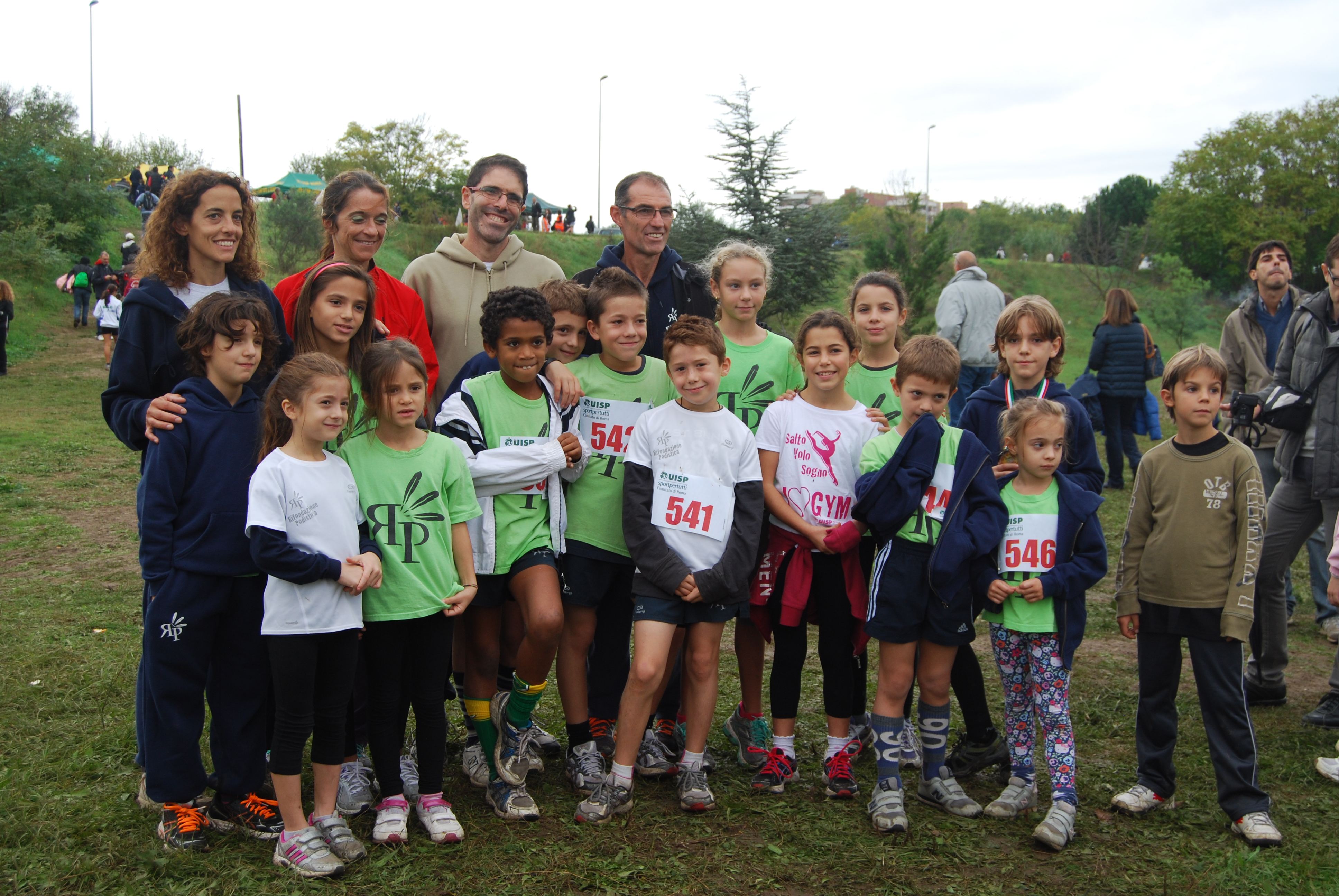 La squadra alla I Corri per il Verde 2012